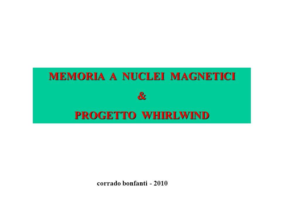 MEMORIA A NUCLEI MAGNETICI