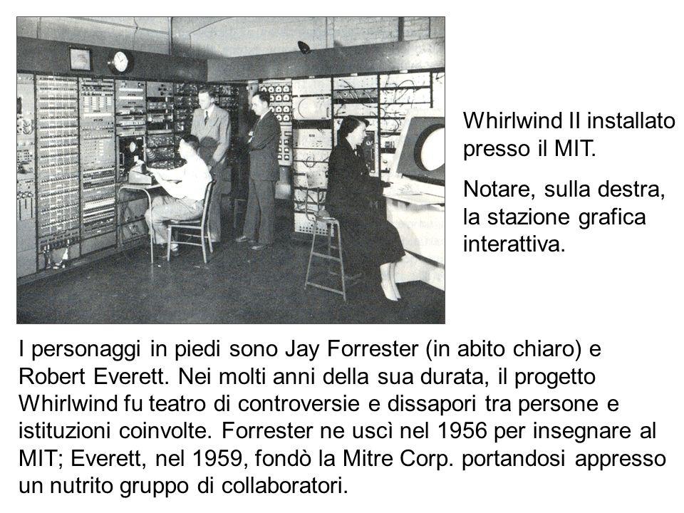 Whirlwind II installato presso il MIT.