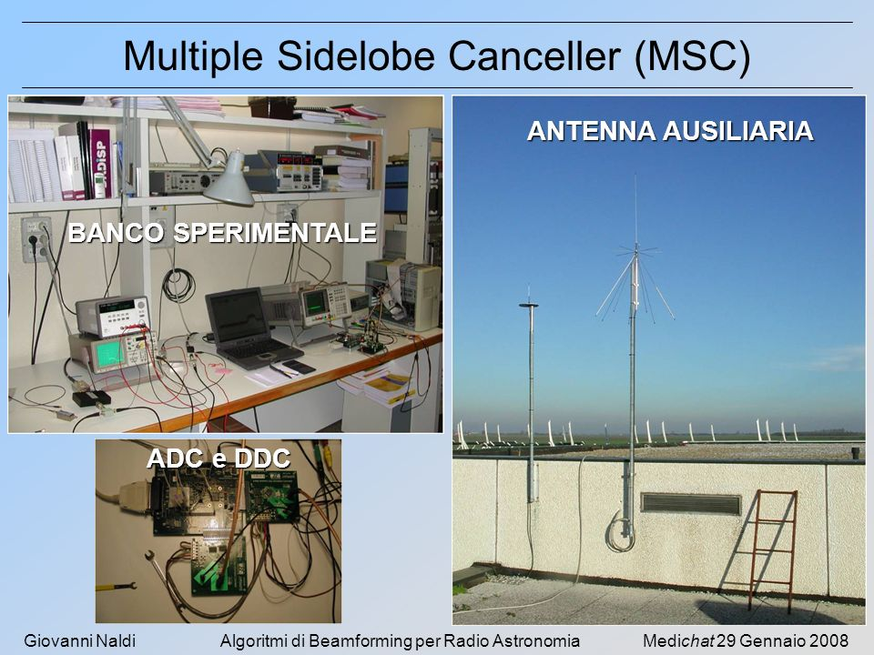 Multiple Sidelobe Canceller (MSC)