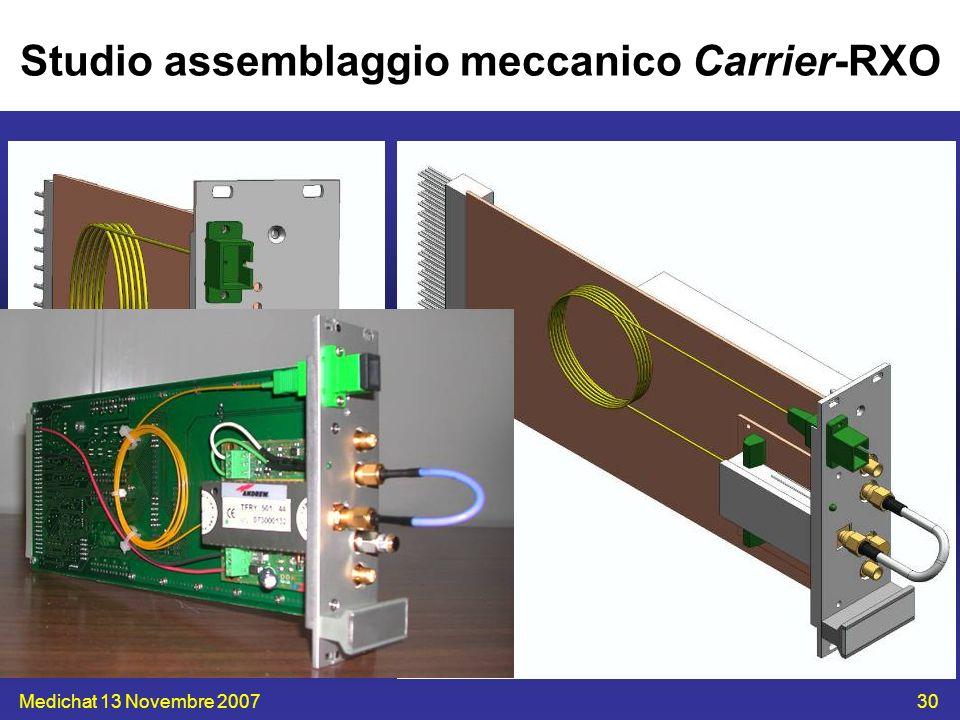 Studio assemblaggio meccanico Carrier-RXO