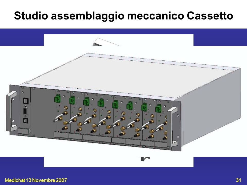 Studio assemblaggio meccanico Cassetto