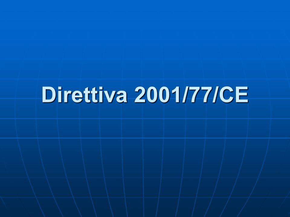 Direttiva 2001/77/CE