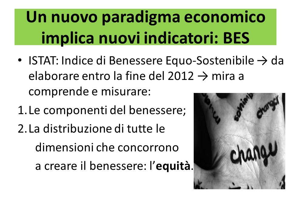 Un nuovo paradigma economico implica nuovi indicatori: BES