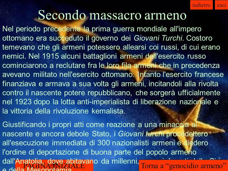 Secondo massacro armeno