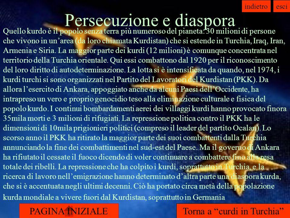 Persecuzione e diaspora
