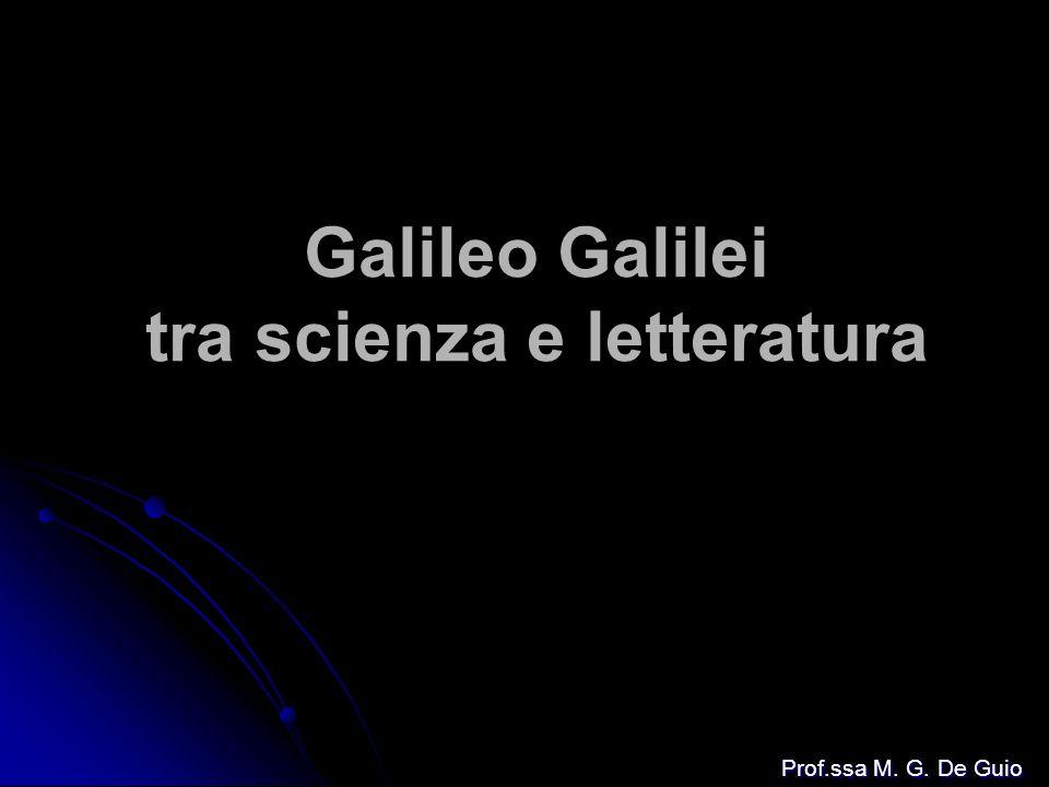 Galileo Galilei tra scienza e letteratura