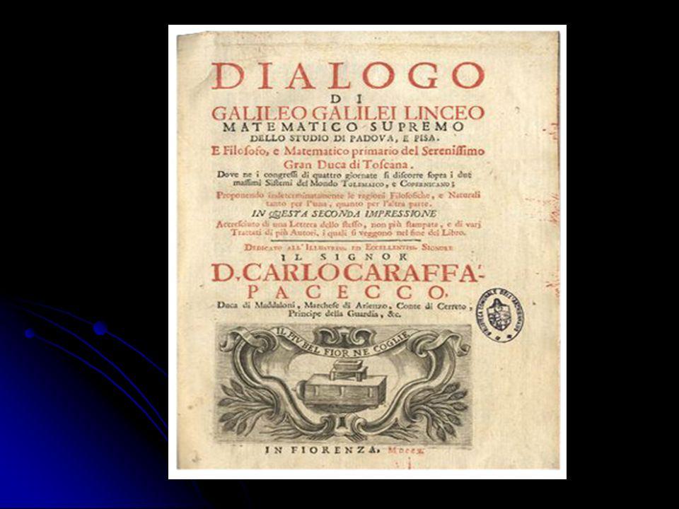 Frontespizio del Dialogo Firenze 1632