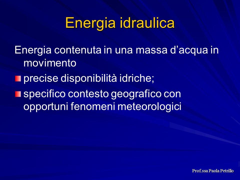 Prof.ssa Paola Petrillo