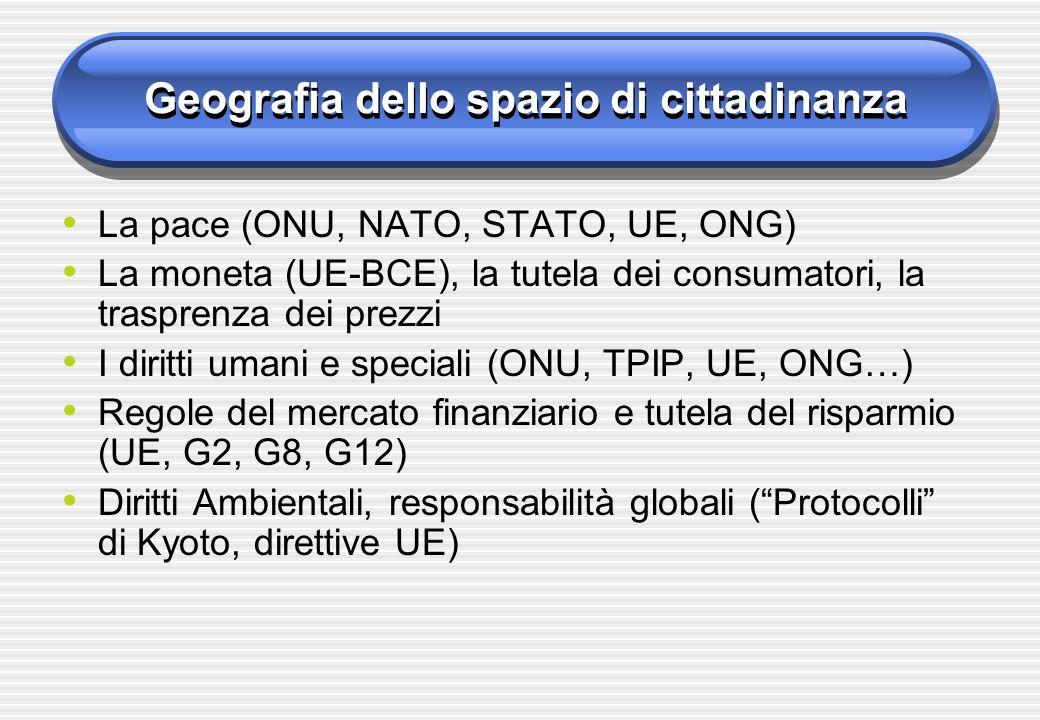 Geografia dello spazio di cittadinanza
