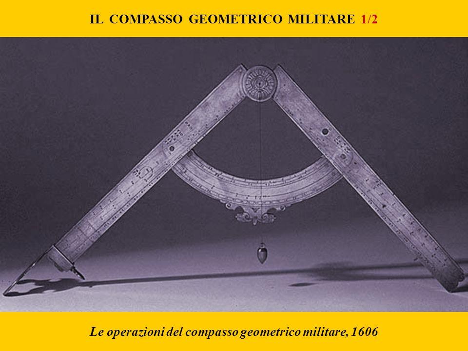 IL COMPASSO GEOMETRICO MILITARE 1/2