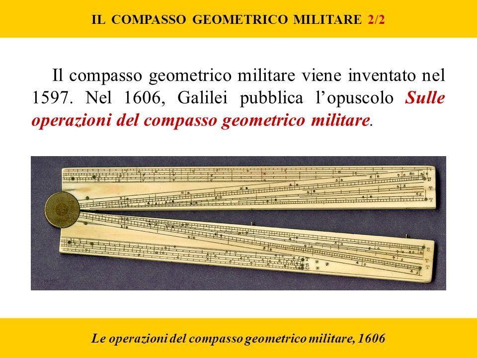 IL COMPASSO GEOMETRICO MILITARE 2/2
