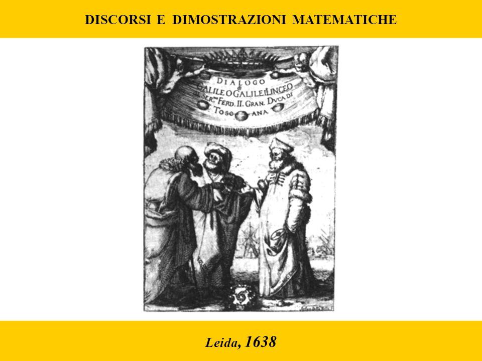 DISCORSI E DIMOSTRAZIONI MATEMATICHE