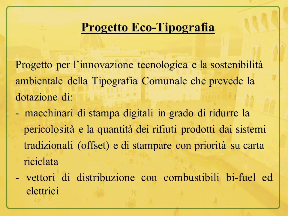 Progetto Eco-Tipografia