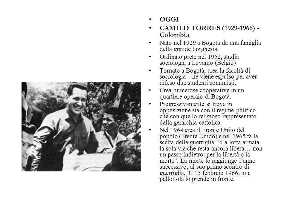 CAMILO TORRES (1929-1966) - Colombia
