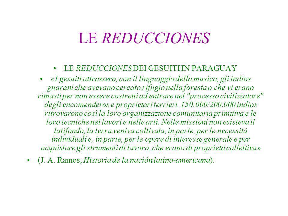 LE REDUCCIONES DEI GESUITI IN PARAGUAY
