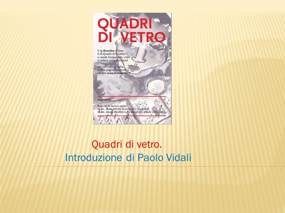 Introduzione di Paolo Vidali