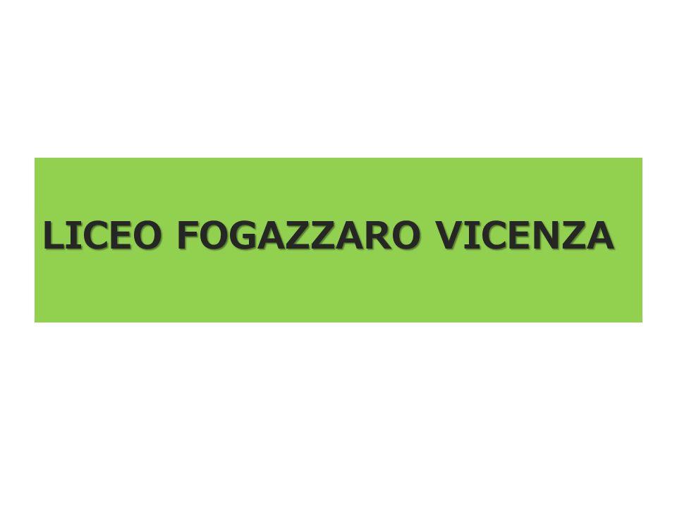 LICEO FOGAZZARO VICENZA
