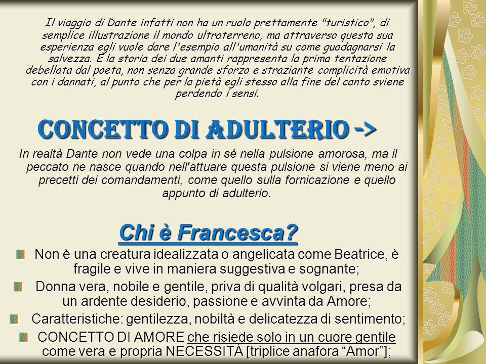 CONCETTO DI ADULTERIO ->