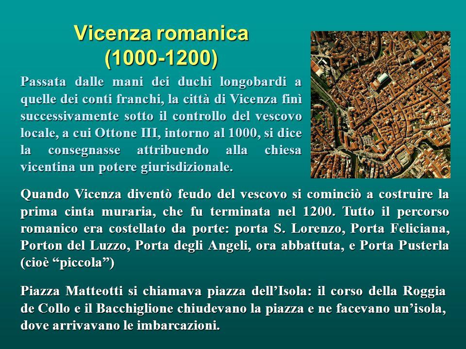 Vicenza romanica (1000-1200)