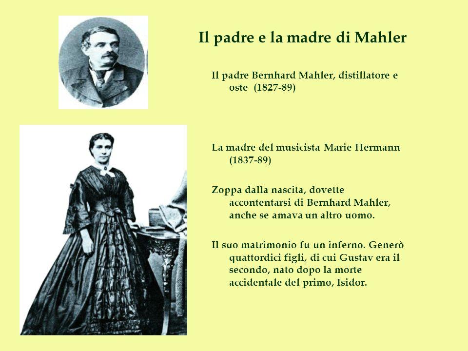 Il padre e la madre di Mahler