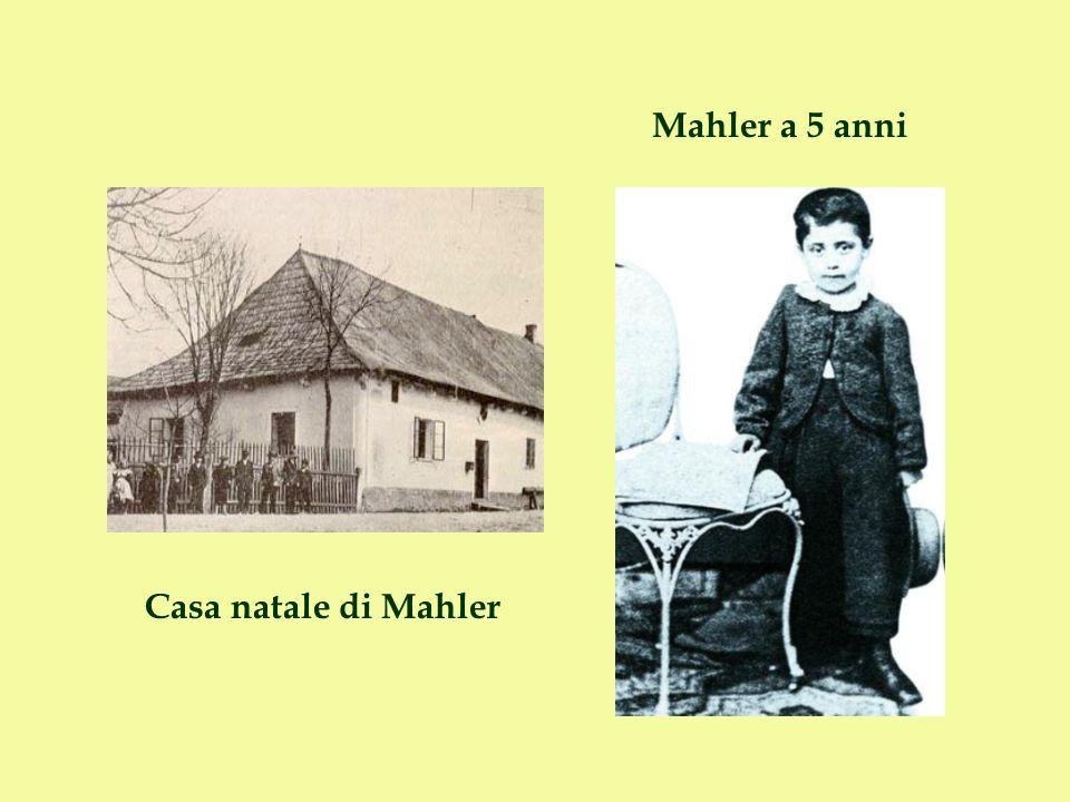 Mahler a 5 anni Casa natale di Mahler