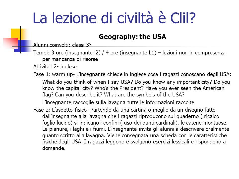 La lezione di civiltà è Clil