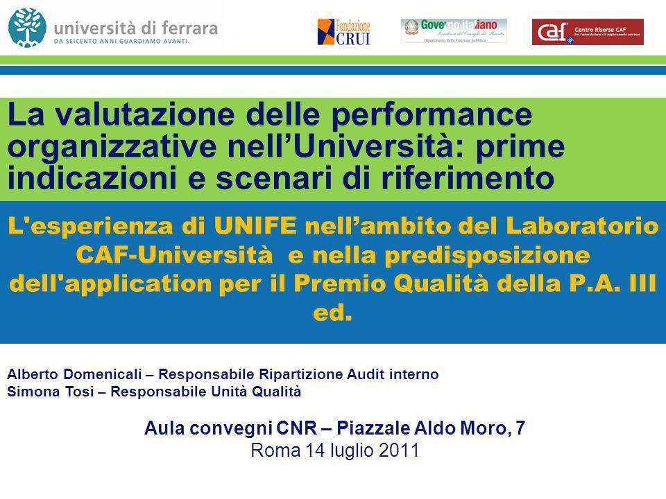 Aula convegni CNR – Piazzale Aldo Moro, 7 Roma 14 luglio 2011