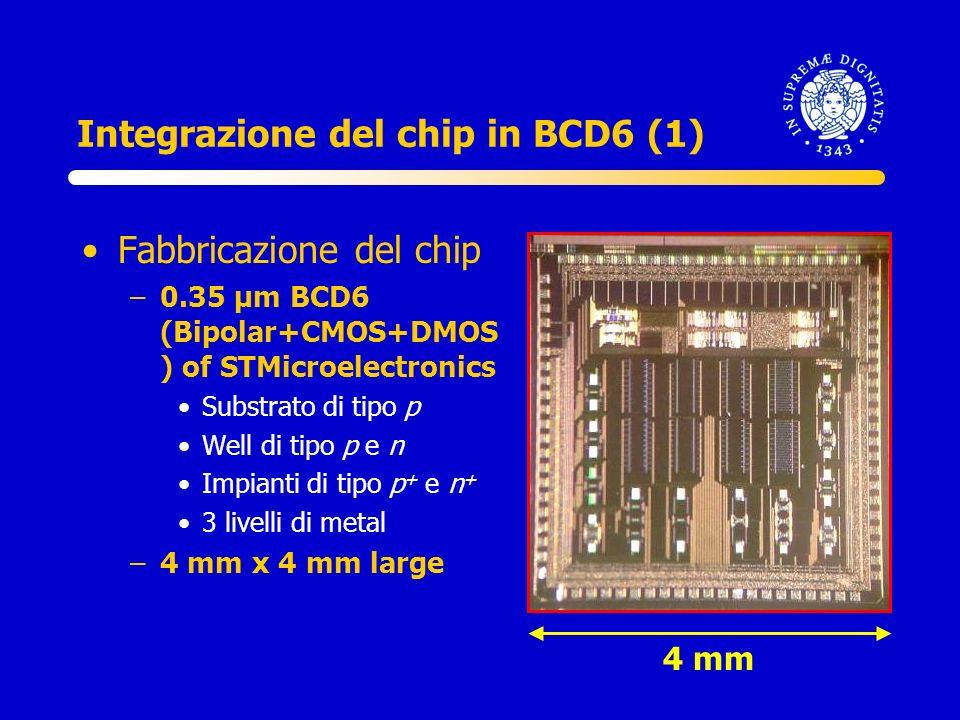 Integrazione del chip in BCD6 (1)