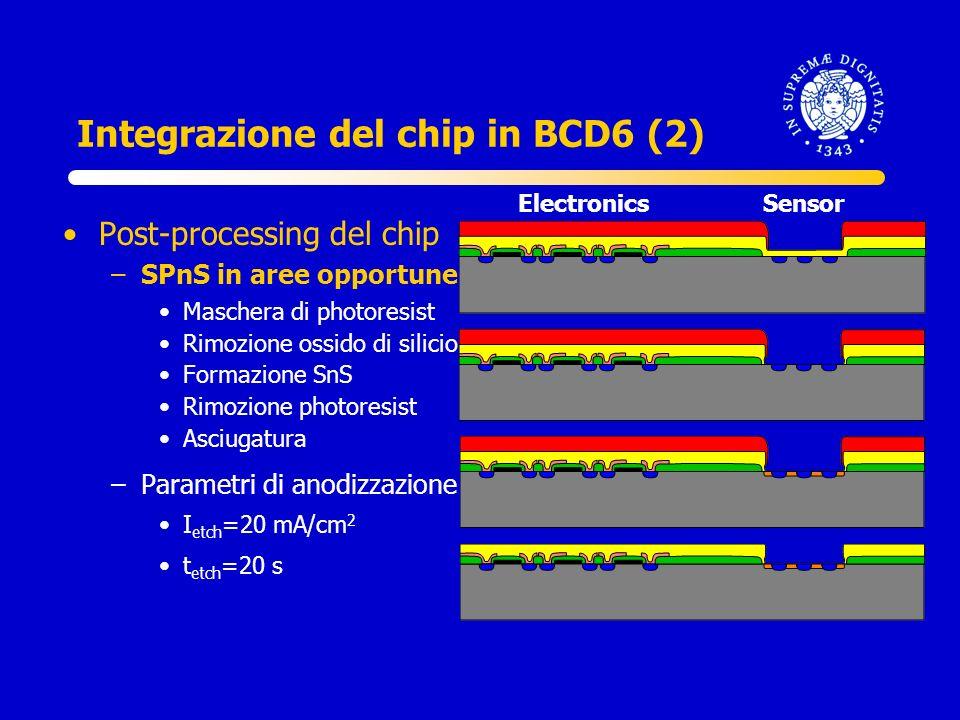 Integrazione del chip in BCD6 (2)