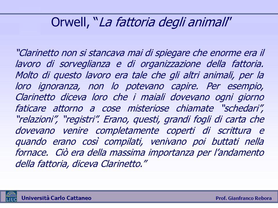 Orwell, La fattoria degli animali