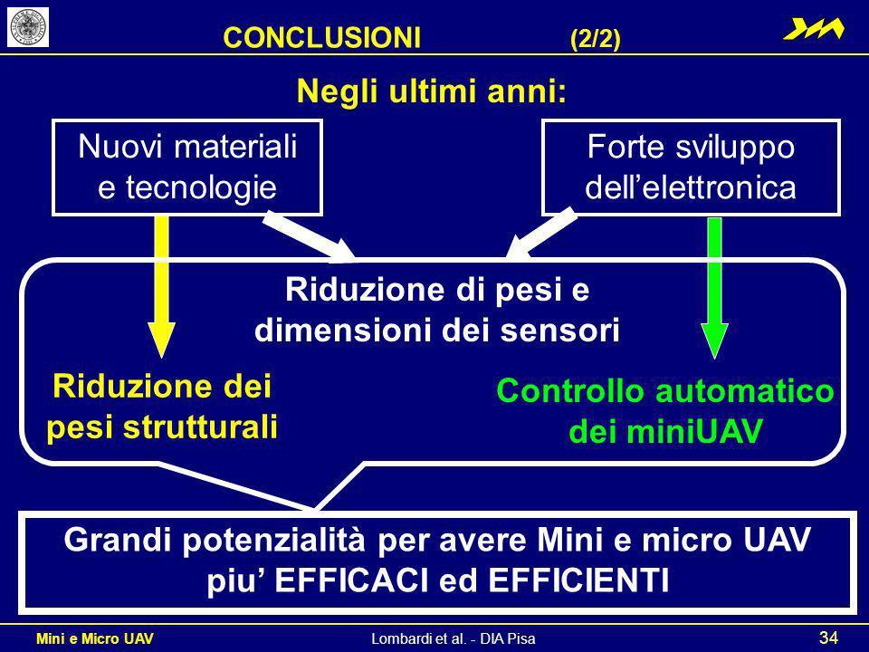 Nuovi materiali e tecnologie Forte sviluppo dell'elettronica