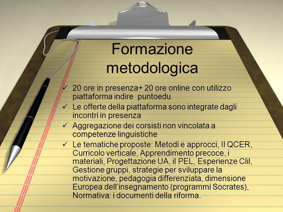 Formazione metodologica