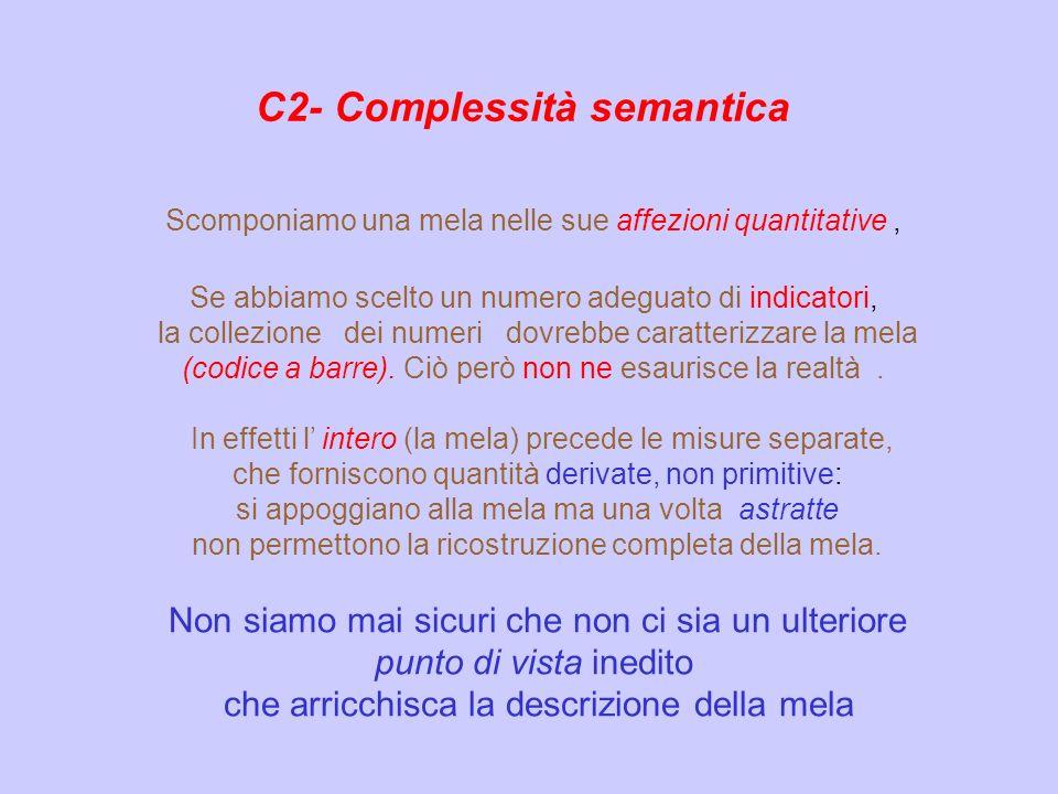 C2- Complessità semantica