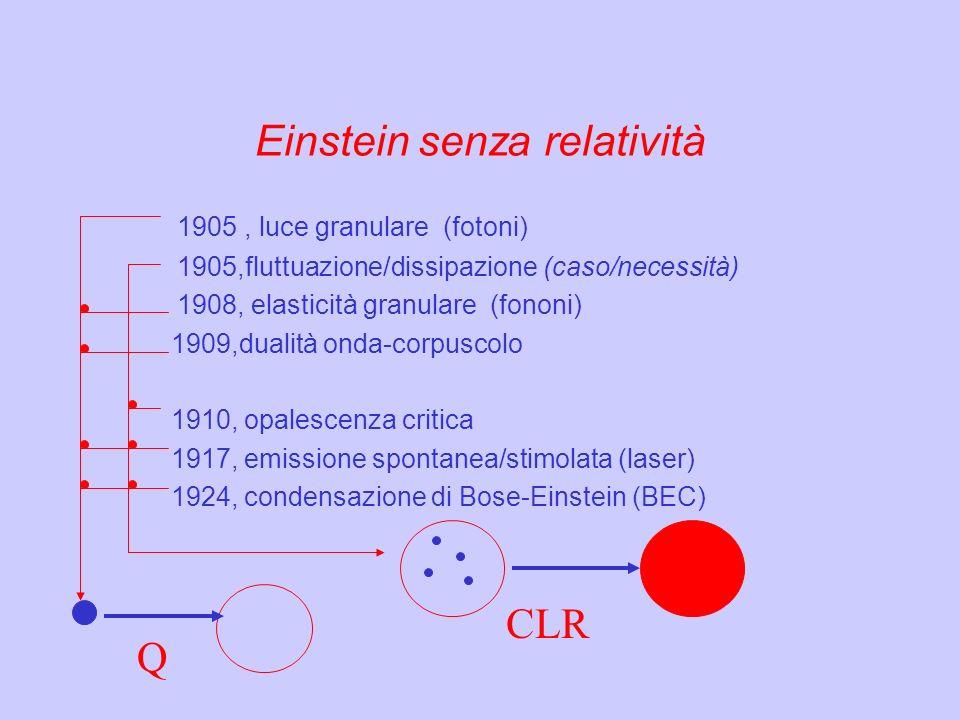 Einstein senza relatività
