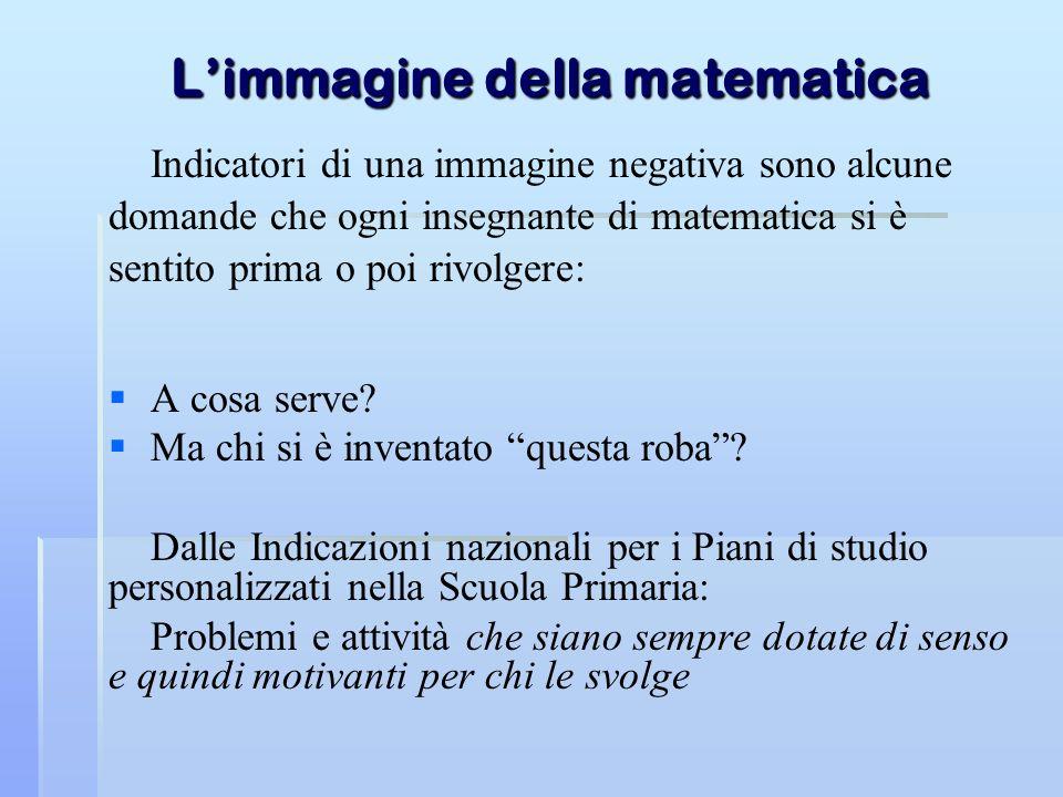 L'immagine della matematica