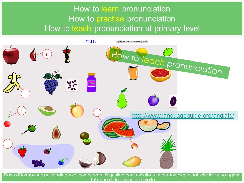 How to learn pronunciation How to practise pronunciation