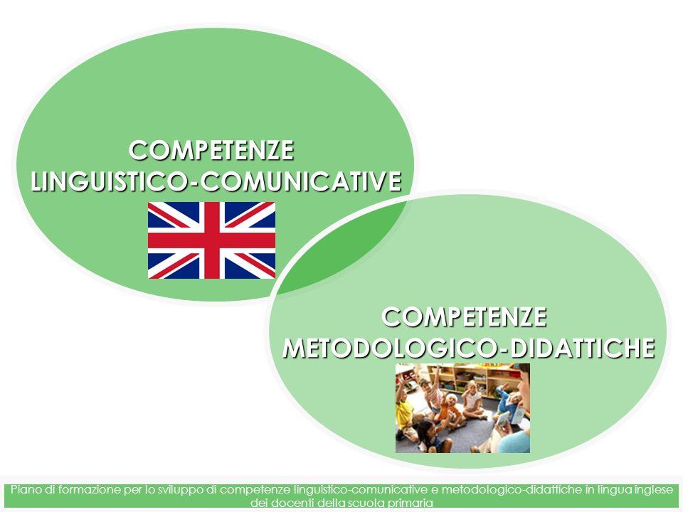 LINGUISTICO-COMUNICATIVE METODOLOGICO-DIDATTICHE