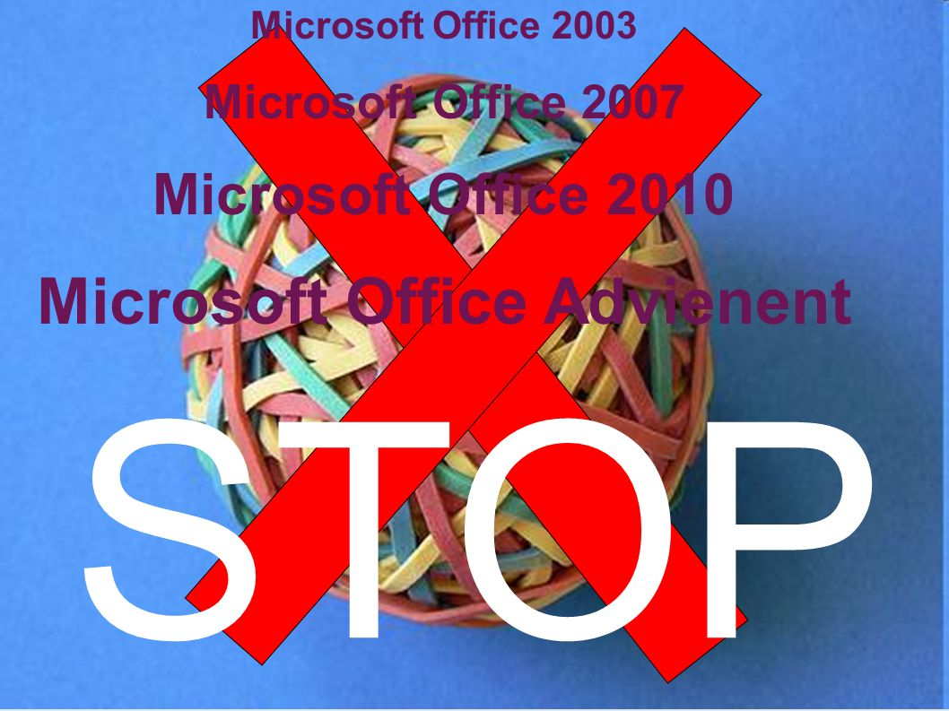 Microsoft Office Advienent