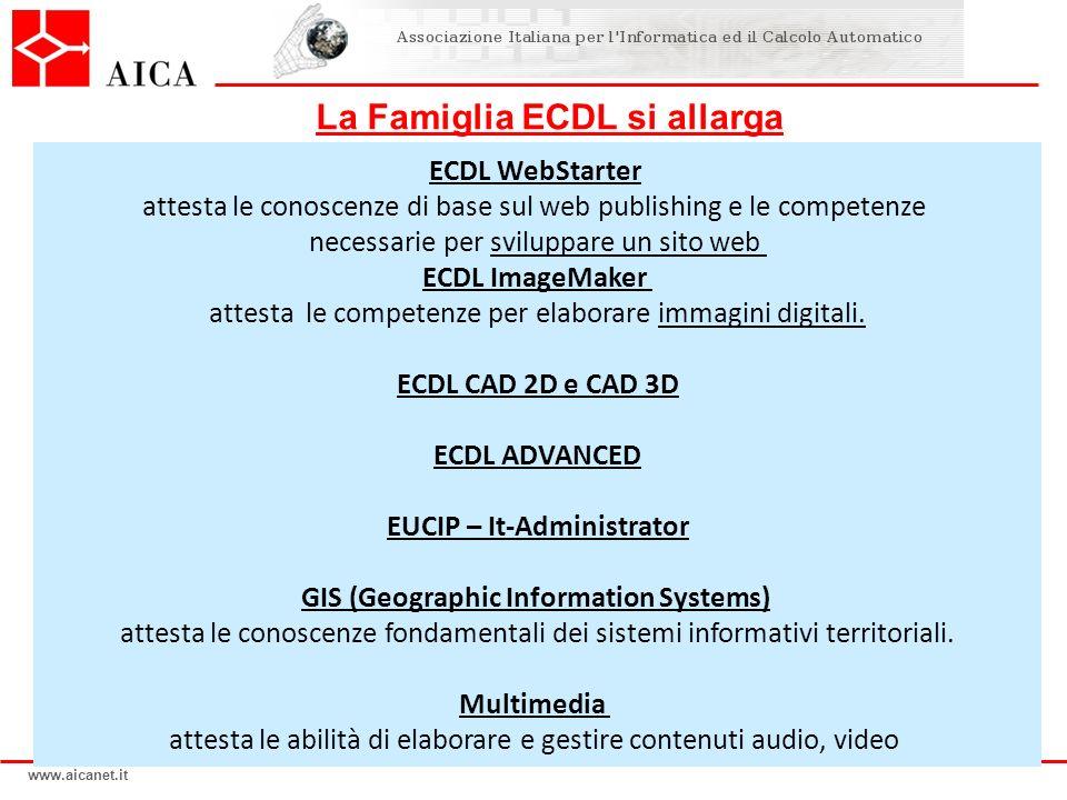 La Famiglia ECDL si allarga EUCIP – It-Administrator