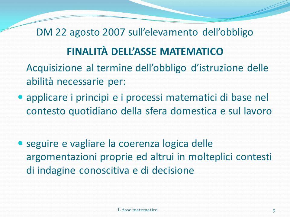 DM 22 agosto 2007 sull'elevamento dell'obbligo