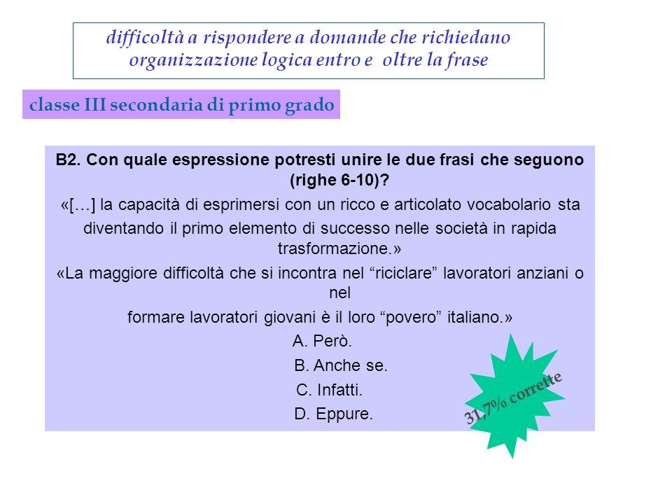 formare lavoratori giovani è il loro povero italiano.»