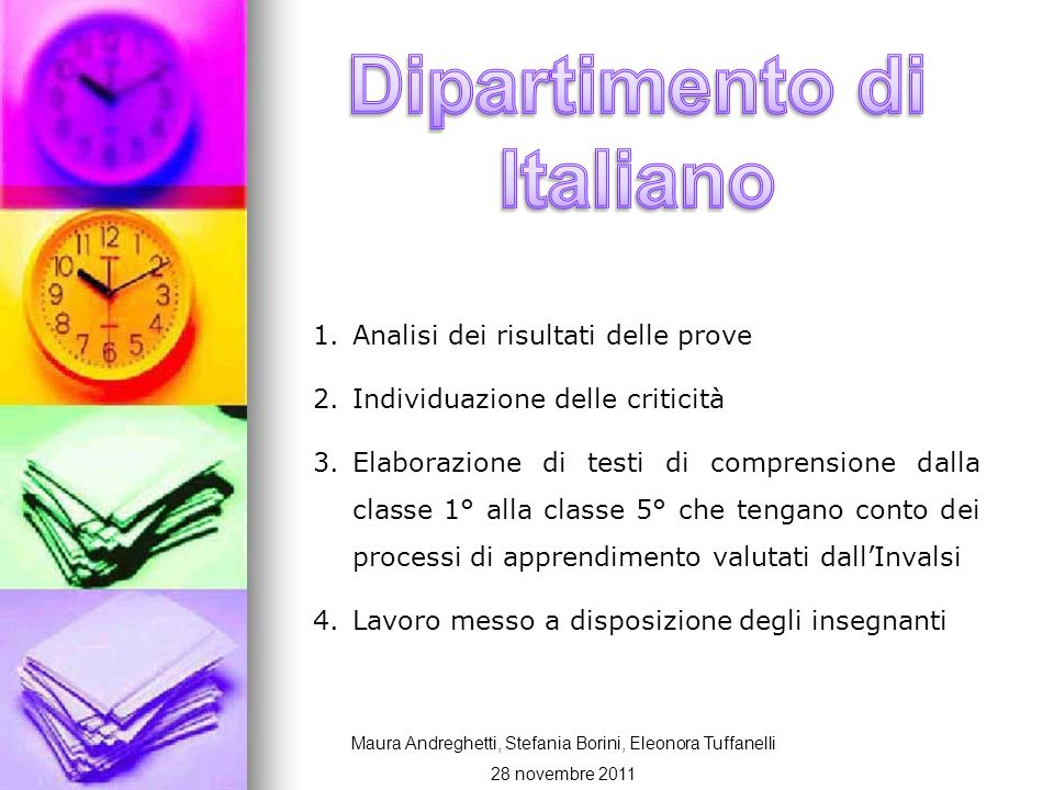 Dipartimento di Italiano