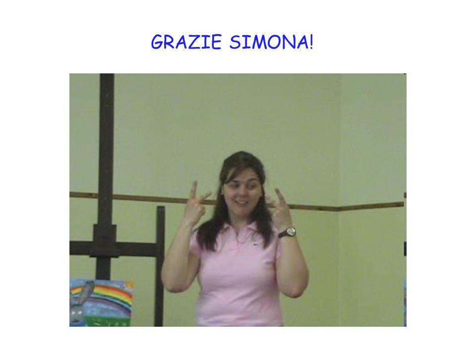 GRAZIE SIMONA!