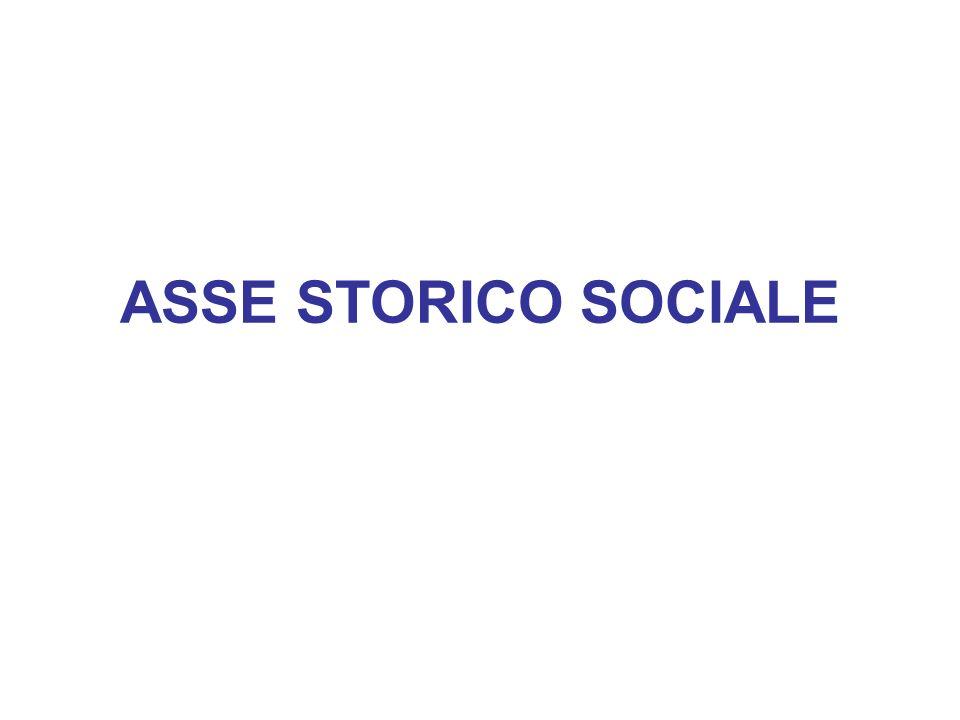 ASSE STORICO SOCIALE