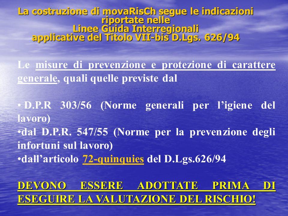 D.P.R 303/56 (Norme generali per l'igiene del lavoro)
