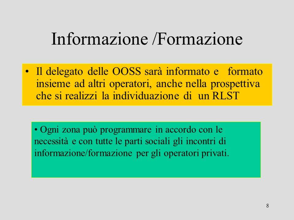 Informazione /Formazione