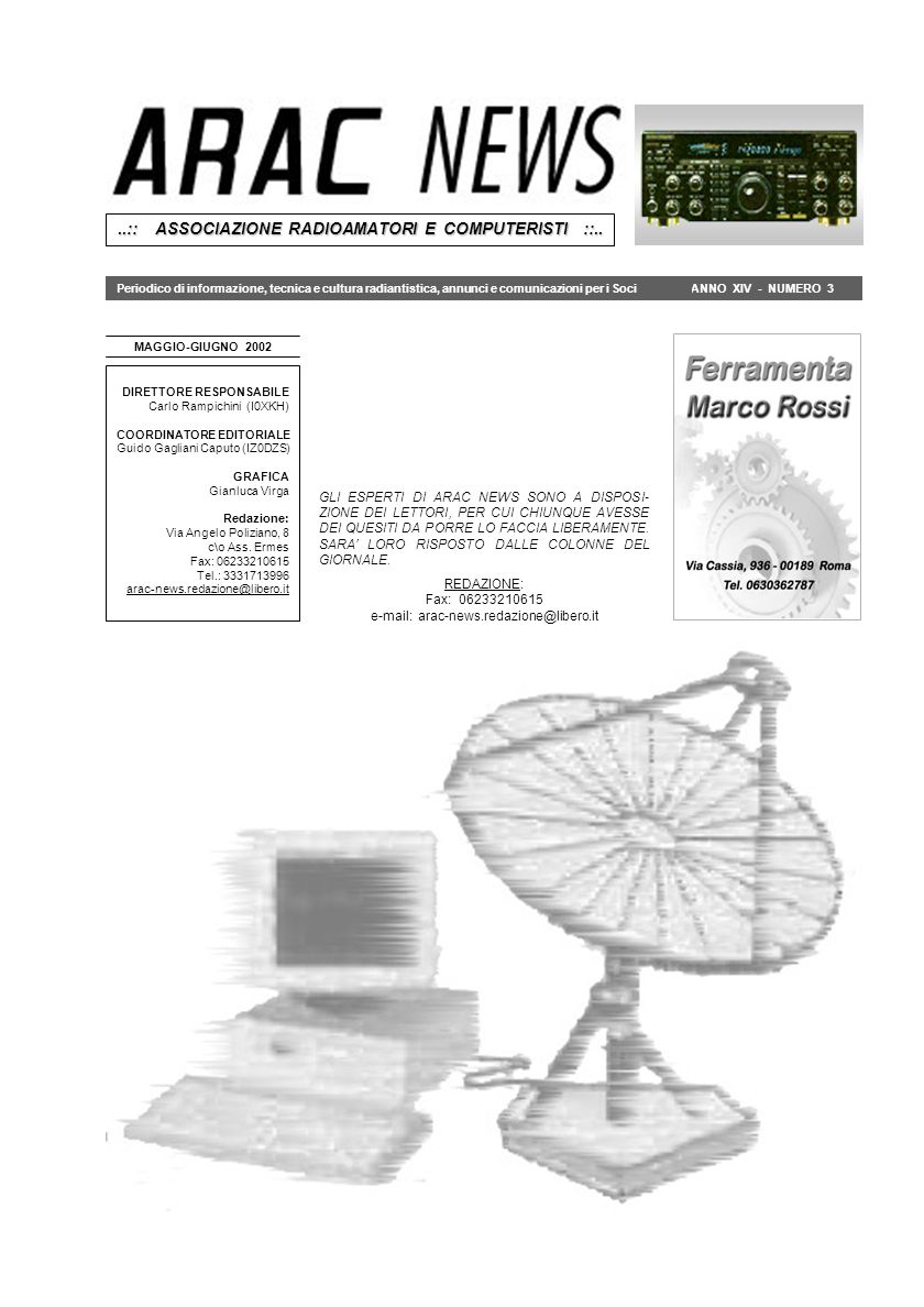 ..:: ASSOCIAZIONE RADIOAMATORI E COMPUTERISTI ::..