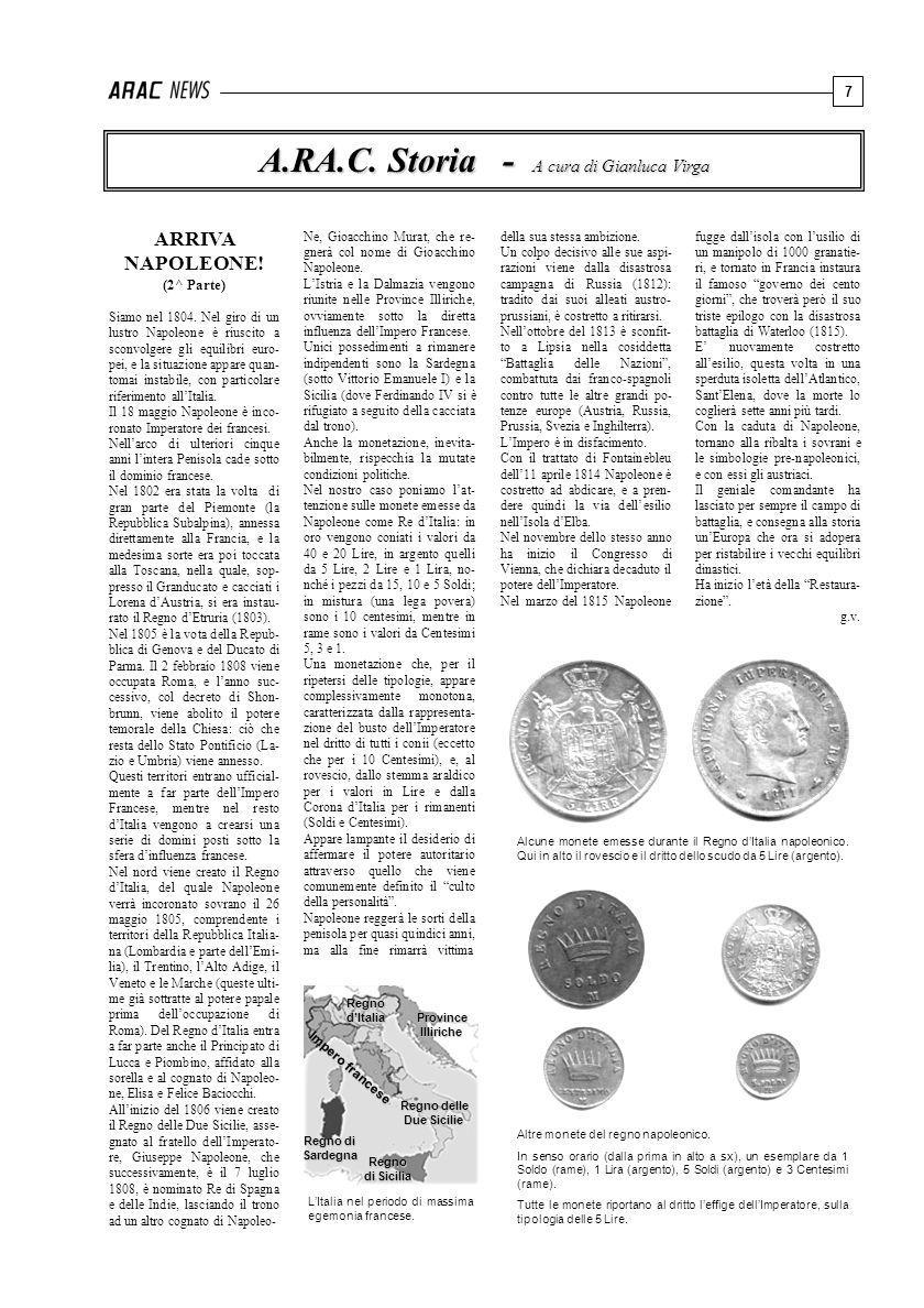 A.RA.C. Storia - A cura di Gianluca Virga