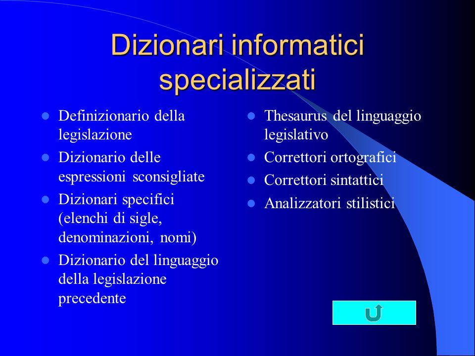 Dizionari informatici specializzati