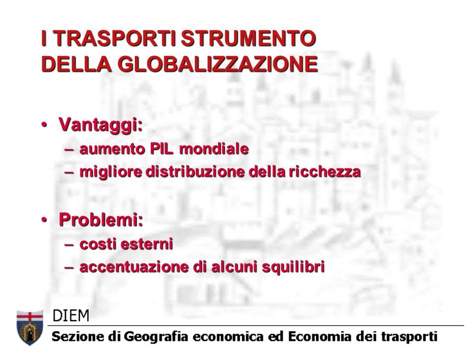 I TRASPORTI STRUMENTO DELLA GLOBALIZZAZIONE